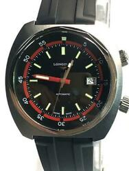 Longines Heritage Diver L2.795.4.52.9 Date Automatic Black Dial Watch
