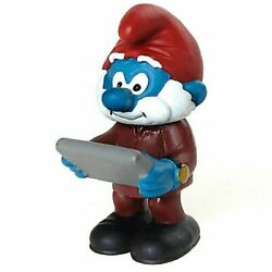 NEW W TAGS Boss smurf Schleich figure 207691 PEYO 2014 SHIPS FROM USA FREE SHIP