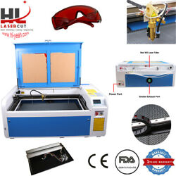 Hl 1060 100w Co2 Usb Laser Cutting Machine Auto-focus Without Chiller Us Pick Up