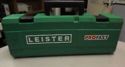 Leister Hot Air Tool Triac St 120v/1600w With Us Plug Push Fit Nozzle 141-228