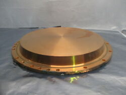 Copper Cu Target, Backing Plate, Endura, Chamber, Spatter, Pvd, 102076