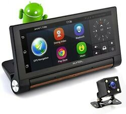 Pyle Surveil Wireless Android Gps Dash Cam And Backup Camera W/ 7 Display