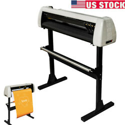 28 Inch Plotter Machine 720mm Paper Feed Vinyl Cutter Plotter Sign With Stand