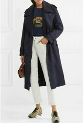 Nwt Oversize Wool Lapel Polyester-filling Trench Coat Us12/uk14 2890