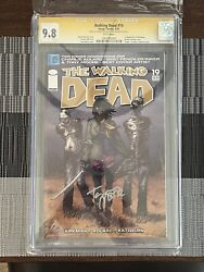 Walking Dead 19 Cgc 9.8 Signed By Kirkman And Moore 1st App Of Michonne