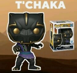 Funko Pop Marvel Black Panther Tand039chaka Hollywood Exclusive