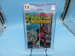 7.5 Kitty Pryde And Wolverine 1. Marvel Comics, 11/84.