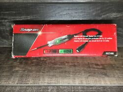 Snap-on Digital Lcd Circuit Tester 6 + 12 Volt =eect400