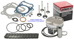 Wiseco Piston Top End Rebuild Kit3 Chain And Valves For Ktm250 Sxf 2013 - 2015