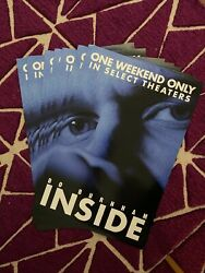 Bo Burnham - Inside Rare Poster In Theaters One Weekend Only W13.5 In X H20 In