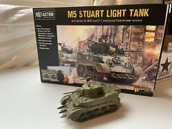 Warlord Games Bolt Action 28mm Wwii Us M5 Stuart Light Tank