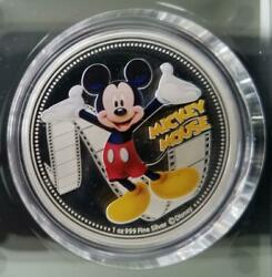 Disney Mickey And Friends Ltd Edition Collectible Coins Set Of Six 1oz 999 Fine