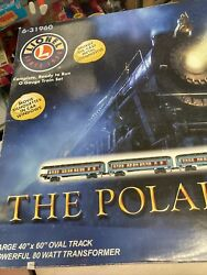The Polar Express O Gauge Train Set Not Complete Used