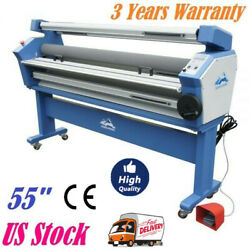 Full-auto 55in Cold Laminator Laminating Machines Mounting With Heat Assisted