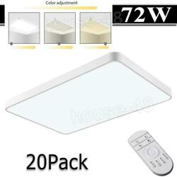 20x 72w Led Ceiling Light Dimmable Ultra Thin Flush Mount Kitchen Home Fixture