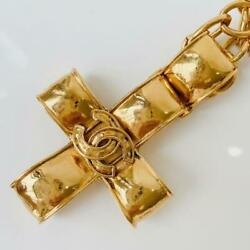 Rare Vintage Necklace Accessory Gold _60070