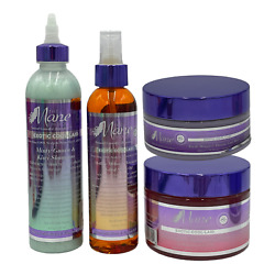 The Mane Choice Exotic Cool-laid 4 Piece Collection Biotin Vitamin D And E