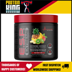Sale Metabolic Nutrition Esp Extreme 275g Fruit Punch Pre Workout Exp 9/21