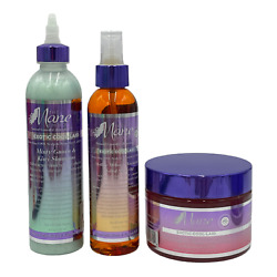 The Mane Choice Exotic Cool-laid Collection 3 Piece Set Biotin Vitamin D And E