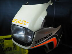 Honda Super Rare I'm Out. Cx500 Turbo Upper Cowl With Headlights Out Of Print