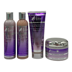 The Mane Choice Pink Lemonade And Coconut Collection 4 Piece Curly Wavy Kinky Hair