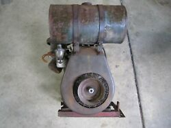 Vintage Briggs And Stratton Stationary Engine Hit And Miss Military