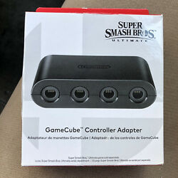 New Official Nintendo Gamecube Controller Adapter Switch Wii Wiiu Free Ship