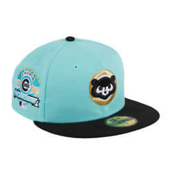 Exclusive New Era 59fifty Chicago Cubs 1990 All Star Game Patch Hat - Size 8