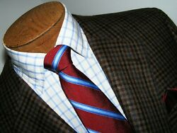Mens Rare Sz 44r Tailored Fit Loro Piana Italy Worsted Spun Cashmere Top China