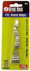 Wh4b Hammer And Axe Wedges, 4-pk. - Quantity 1