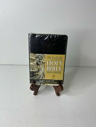The Catholic Holy Bible - New American Bible - Black Bonded Leather By None