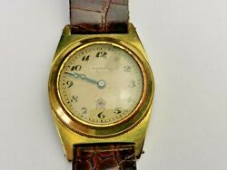 Vintage Hardwood Self-winding Automatic Watch,gold Filled Case, Needs Service