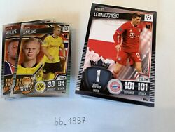 Topps - Match Attax 101 2020/2021 - All Rainbow Foil + Base Cards Complete 160
