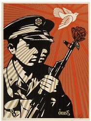 Shepard Fairey B. 1970 Chinese Soldiers. 2006. Ed. 128/300