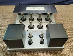 Lectron Jh-50 Jh50 Tube Power Amplifier 2 Channel 100w Amp Audio Music