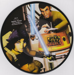 Star Wars Rebels Numbered Picture Disc 7 Vinyl Brand New