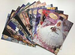 Annie's Calendar Bed Doll Society Gems Of The South + Bride, 13 Crochet Patterns