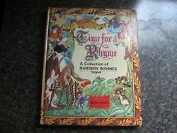 Time For A Rhyme A Collection Of Nursery Rhymes
