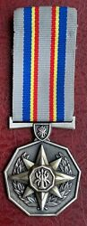 South Africa South African Police Services 20 Year Loyal Service Medal - Silver