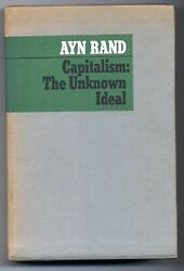 Ayn Rand Capitalism The Unknown Ideal Limited Edition 1967 Signed First Edition