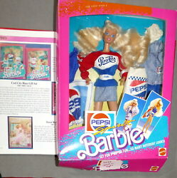 Barbie 1980s Doll As Seen In Book Gift Set Pepsi Barbie Toys R Us Usa Seller