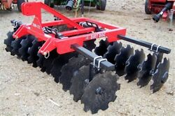 New Dirt Dog Hd 8 Ft Disc Harrow Model 200-22 Free 1000 Mile Delivery From Ky