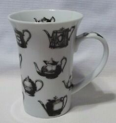 Antique Pewter Tall Coffee Mug Cup Paul Cardew Teapots Paris Chic Cottage