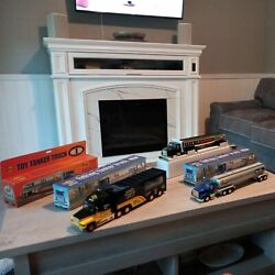 Sunoco Toy Tanker Truck Lot Of 6