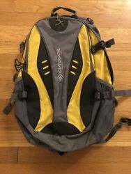 Outdoor Products Backpack Yellow Grey Black Hiking Camping gear $29.95