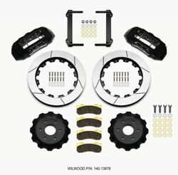 Wilwood Tx6r Front Kit 16.00in Black 1999-2014 Gm Truck/suv 1500 - 140-13876