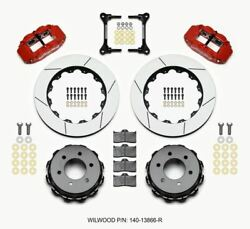 Wilwood Narrow Superlite 4r Reartruck Kit 14.25in Red 2012-up Ford F150 6 Lug