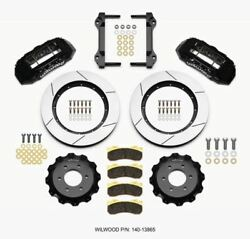 Wilwood Tx6r Front Kit 15.50in Black 2010-up Ford F150 6 Lug - 140-13865