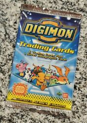 Digimon Animated Series Collectible Card Game Ccg Booster Pack Trading New 1999