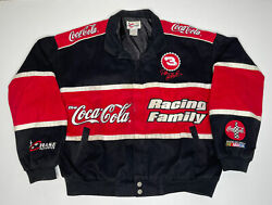 Chase Authentic-dale Earnhardt Coca-cola Family Racing Jacket Size Xl 3